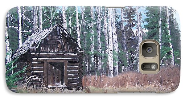 Galaxy Case featuring the painting Solitude by Bonnie Heather