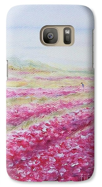 Galaxy Case featuring the painting Solitude by Jane  See