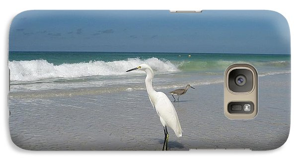 Galaxy Case featuring the photograph Solitude by Jean Marie Maggi