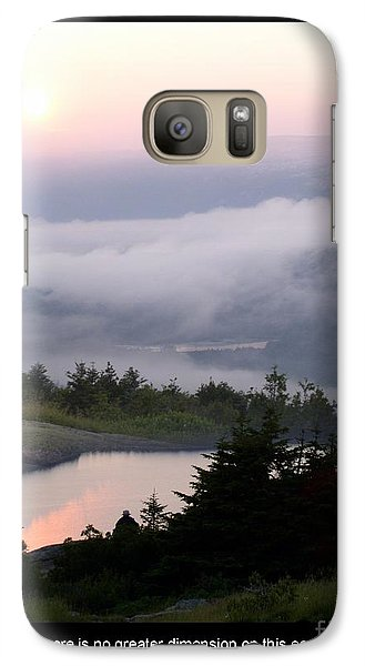 Galaxy Case featuring the photograph Solitude by Mary Lou Chmura