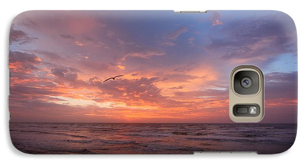 Galaxy Case featuring the photograph Solo Flight At Dawn by Susan D Moody