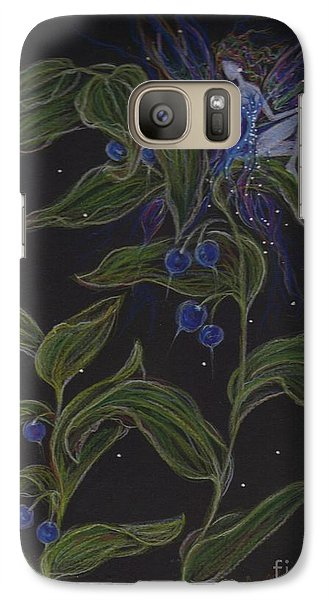Galaxy Case featuring the drawing Solomon's Seal by Dawn Fairies