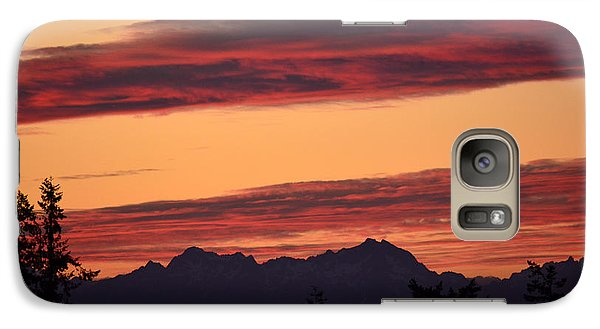 Galaxy Case featuring the photograph Solstice Sunset I by Gayle Swigart