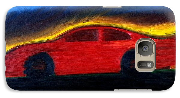 Galaxy Case featuring the painting Some Have Seen The Air by Stacy C Bottoms