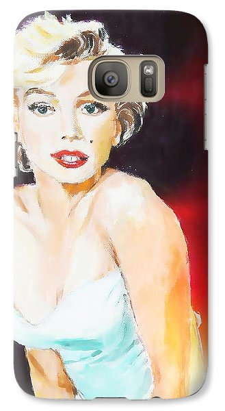 Galaxy Case featuring the painting Some Like It Red Hot by Judy Kay