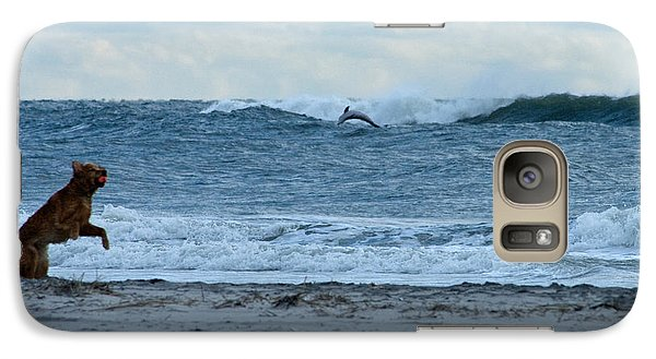 Galaxy Case featuring the photograph Some Timing by Greg Graham