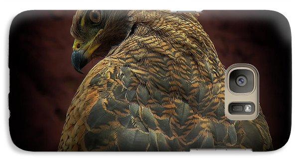 Hawk Galaxy S7 Case - Somebody Watch Me-savanna Hawk by Ferdinando Valverde