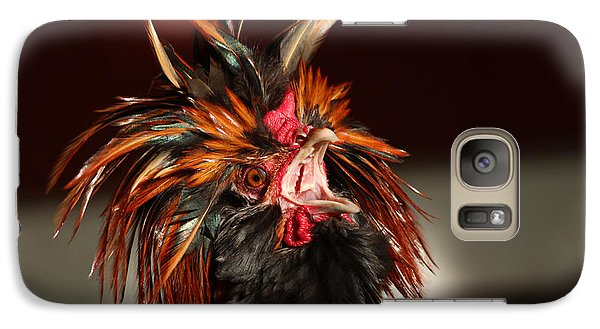 Galaxy Case featuring the photograph Something To Crow About by Lynn Sprowl