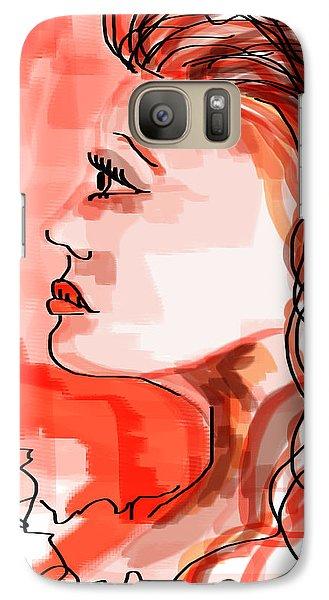 Galaxy Case featuring the digital art Sometimes Life's Not Fair by Sladjana Lazarevic