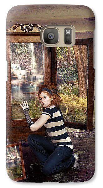 Somewhere Better Galaxy S7 Case by Linda Lees