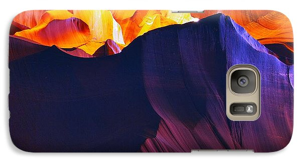 Galaxy Case featuring the photograph Somewhere In America Series - Antelope Canyon by Lilia D
