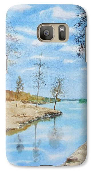 Galaxy Case featuring the painting Somewhere In Dalarna by Martin Howard