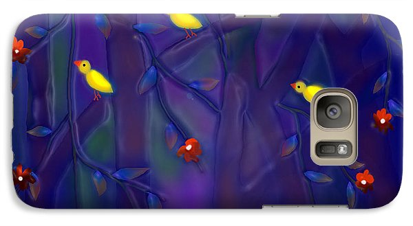 Galaxy Case featuring the digital art Sonata by Latha Gokuldas Panicker