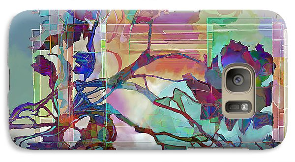 Galaxy Case featuring the digital art Sonata by Ursula Freer