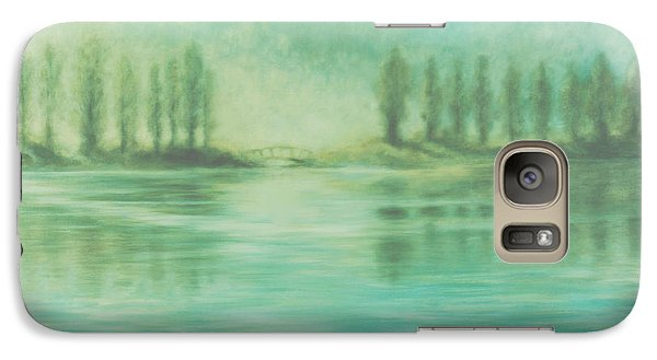Galaxy Case featuring the painting Song For Monet by Laurie Stewart