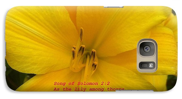 Galaxy Case featuring the photograph Song Of Solomon 2  2 by Saribelle Rodriguez