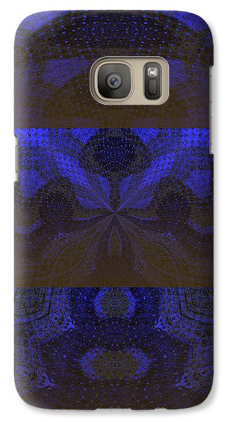 Galaxy Case featuring the painting Sonic Temple by Roz Abellera Art