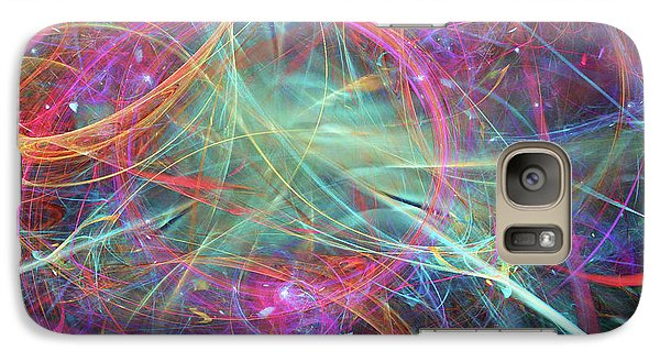 Galaxy Case featuring the digital art Sonogram Of The Soul by Margie Chapman