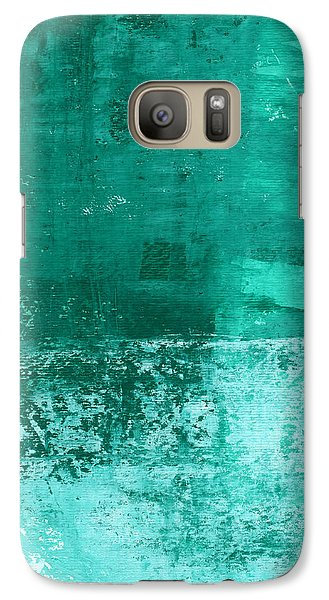Soothing Sea - Abstract Painting Galaxy S7 Case