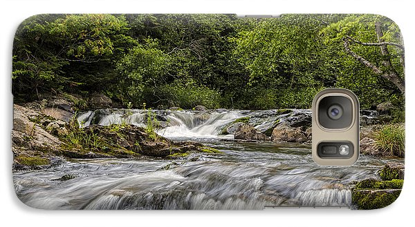 Galaxy Case featuring the photograph Soothing Waters by Gary Smith