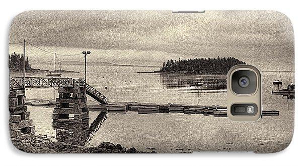 Sorrento Harbor Boats 4 Galaxy S7 Case by Bill Barber