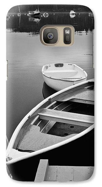 Sorrento Harbor Boats Galaxy S7 Case by Bill Barber