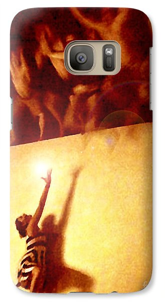 Galaxy Case featuring the photograph Soul Catcher by Cristophers Dream Artistry