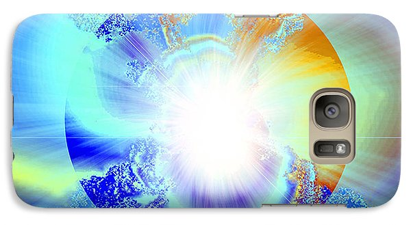 Galaxy Case featuring the digital art Soul Expansion by Ute Posegga-Rudel