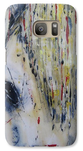 Galaxy Case featuring the painting Soul Mare by Lucy Matta