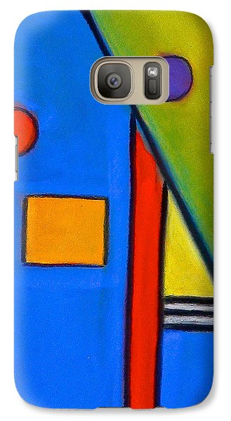 Galaxy Case featuring the drawing Soul Mates by Dan Redmon