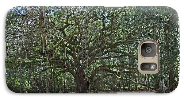 Galaxy Case featuring the photograph Soul Tree by Dodie Ulery
