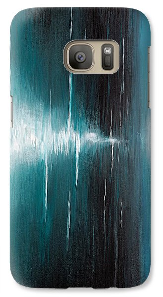 Galaxy Case featuring the painting Hear The Sound by Michelle Joseph-Long