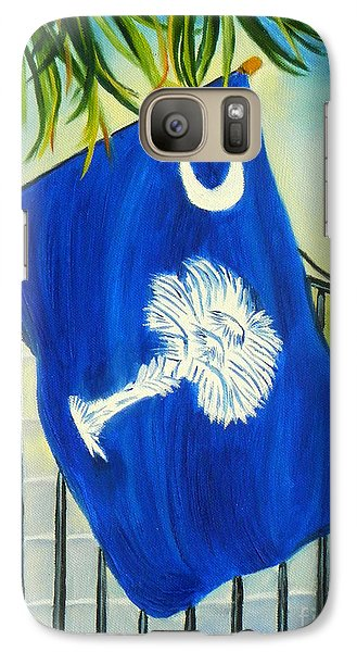 Galaxy Case featuring the painting South Carolina - A State Of Art by Shelia Kempf