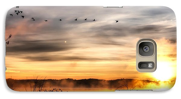 Galaxy Case featuring the photograph South Carolina Morning by Lynne Jenkins