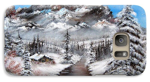 Galaxy Case featuring the painting South Dakota Morning by Patrice Torrillo