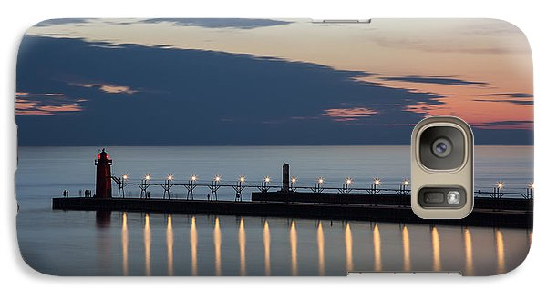South Haven Michigan Lighthouse Galaxy S7 Case