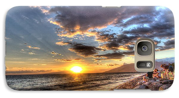 South Kihei Sunset Galaxy S7 Case
