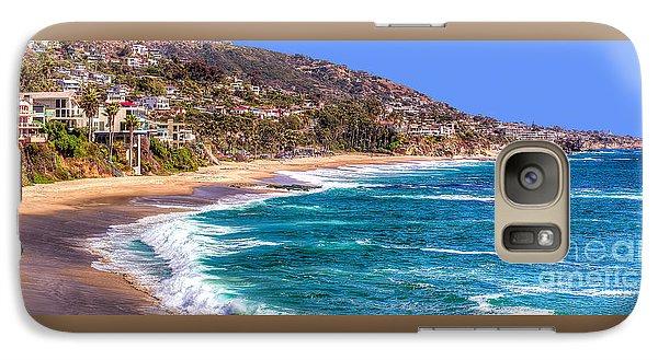 Galaxy Case featuring the photograph South Laguna Beach Coast by Jim Carrell