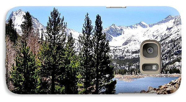Galaxy Case featuring the photograph South Lake by Marilyn Diaz