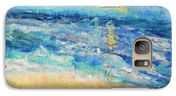 Galaxy Case featuring the painting South Of France by Fereshteh Stoecklein