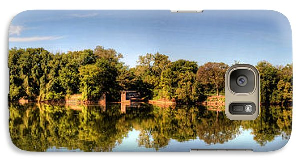 Galaxy Case featuring the digital art South Of The James by Kelvin Booker