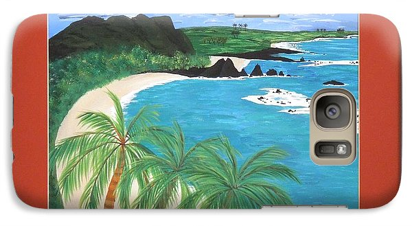 Galaxy Case featuring the painting South Pacific by Ron Davidson
