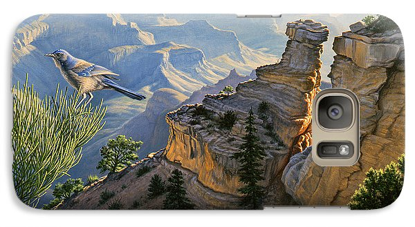 South Rim Morning Galaxy S7 Case by Paul Krapf