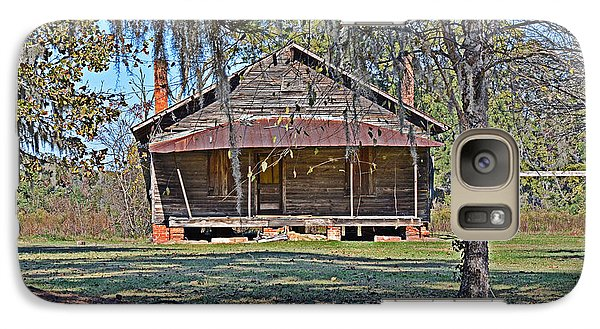 Galaxy Case featuring the photograph Southern Cabin by Linda Brown