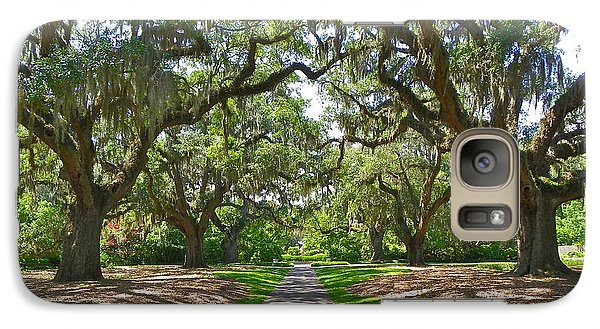 Galaxy Case featuring the photograph Southern Charm by Eve Spring