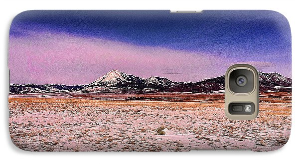 Galaxy Case featuring the photograph Southern Colorado Mountains by Ron Roberts