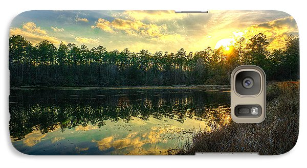 Galaxy Case featuring the photograph Southern Creek by Maddalena McDonald