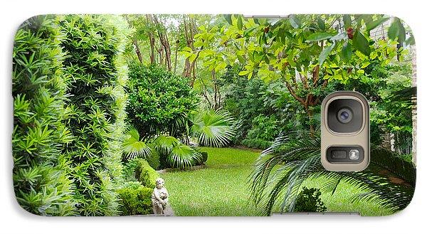 Galaxy Case featuring the photograph Southern Garden Charleston South Carolina by Vizual Studio