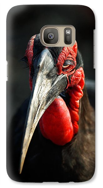 Southern Ground Hornbill Portrait Front View Galaxy S7 Case