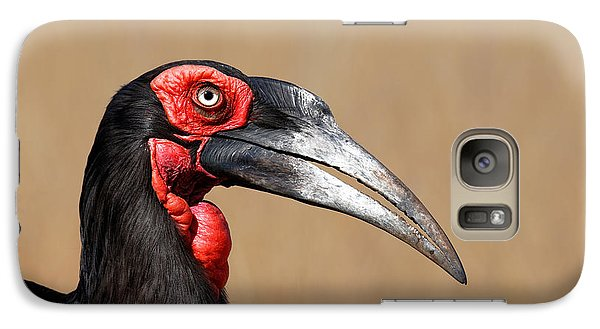 Southern Ground Hornbill Portrait Side View Galaxy S7 Case